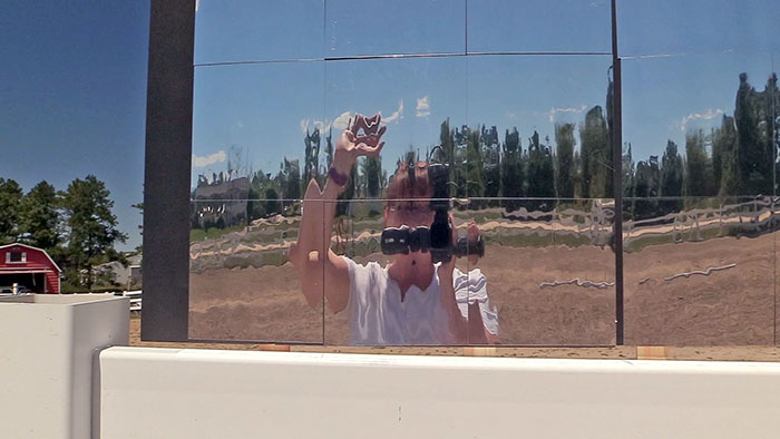 How To Make Outdoor Arena Mirrors
