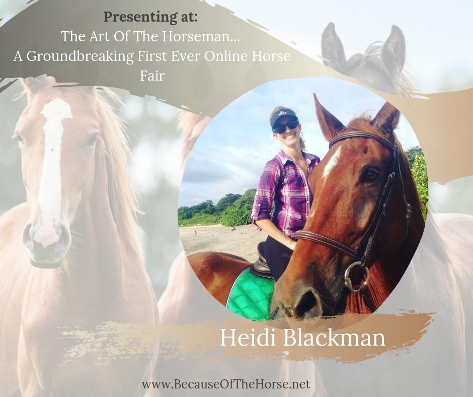 Heidi Blackman horse trainer