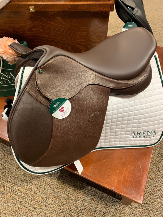 Arena saddle at Dover Saddlery in Parker CO