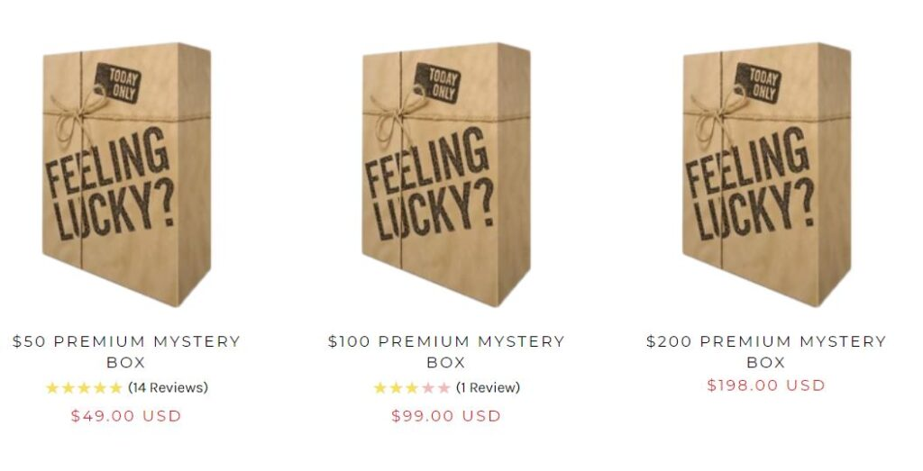 just riding mystery boxes