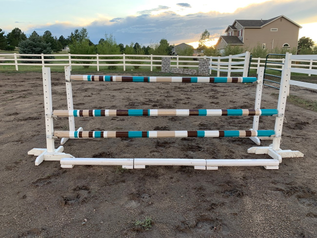 voltaire design homemade horse jump