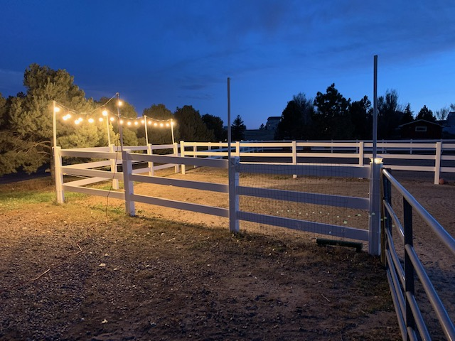 DIY Riding Arena Lights