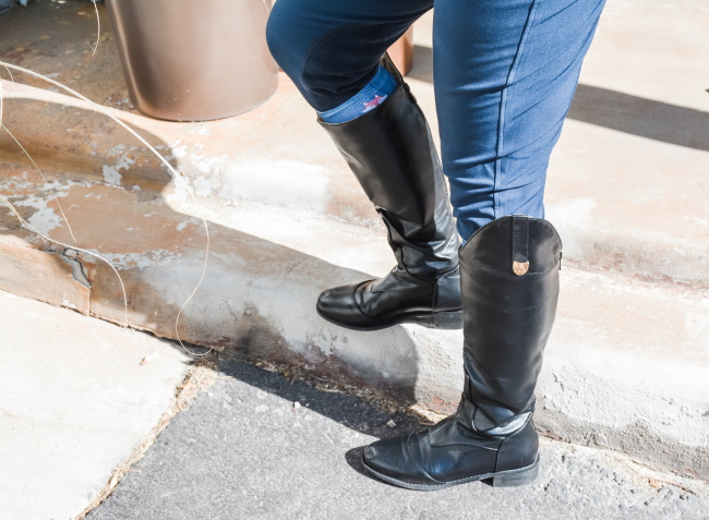 I Bought Riding Boots on Wish