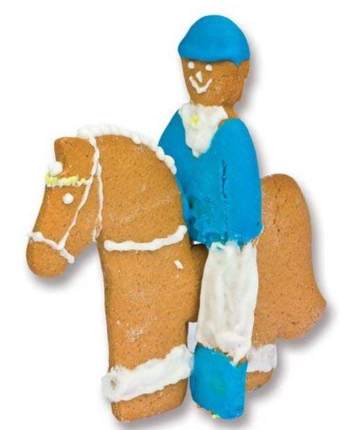 Horse cookie cutter set