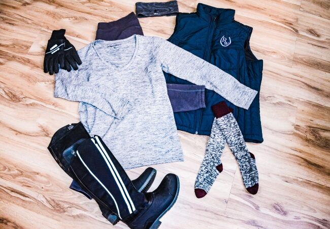 Warm Riding Outfit For Fall