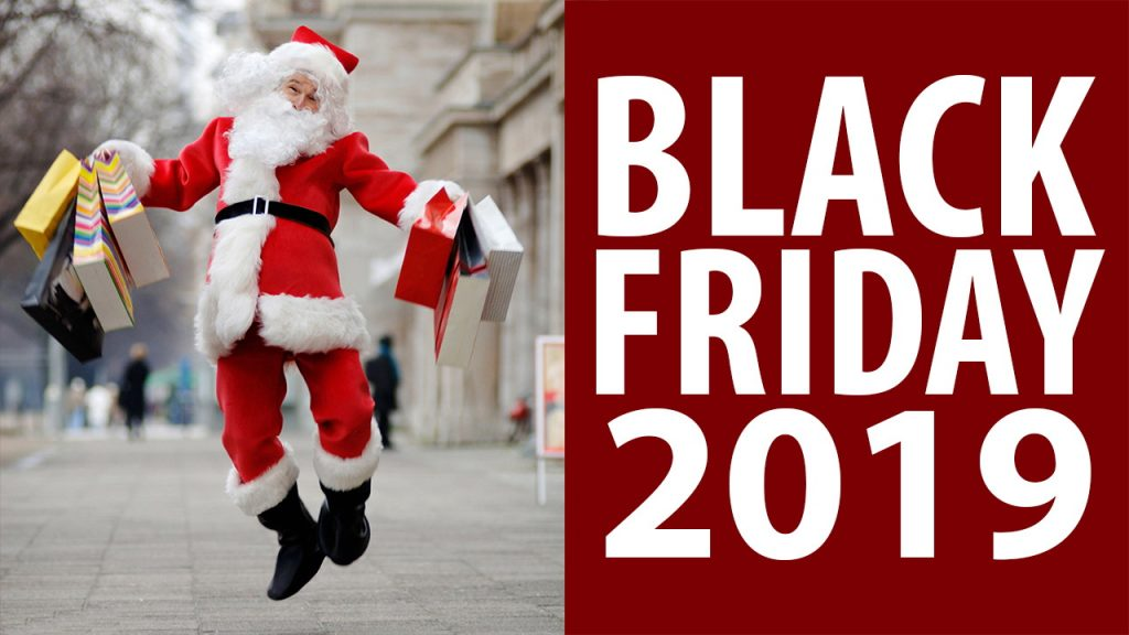 santa on black friday