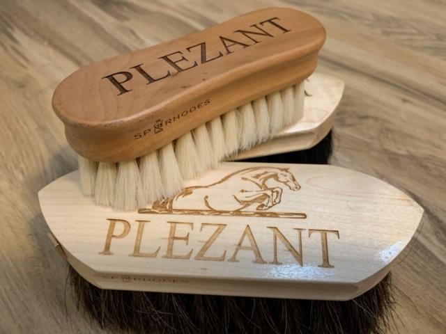 personalized horse brushes