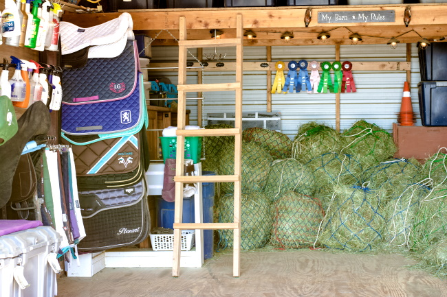 The Real Secret to an Organized Tack Room