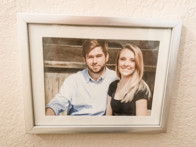 affordable photo displays from Dollar Tree