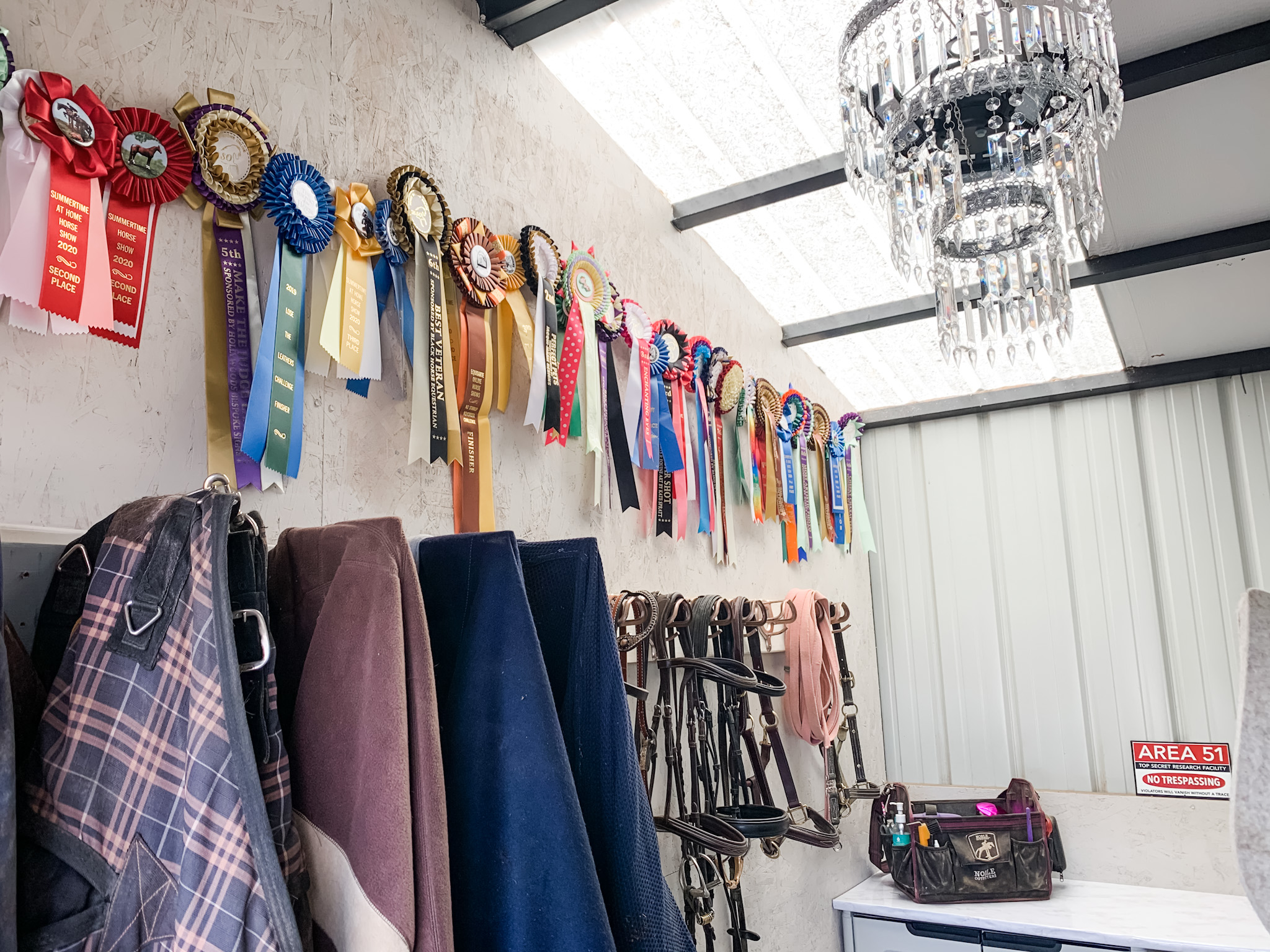 Extreme Makeover – Tack Room Edition