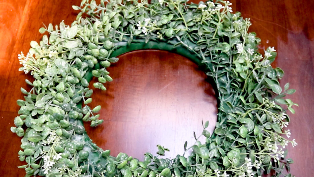 Quick And Affordable Spring Wreath